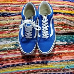 Royal blue vans